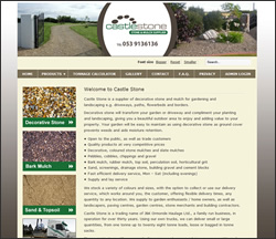 Castle Stone - Decorative Stone, Mulch, Topsoil and Sand Suppliers in Wexford