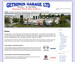 Gethings Garage Enniscorthy - Vehicle Sales, Service and Repairs - Dealers for Iveco, Hino, Isuzu, Fiat and Zetor