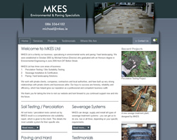 MKES - Soil Testing, Percolation Testing, Sewerage Systems, Paving, Hard Landscaping