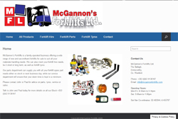 McGannon Forklifts - Forklift Sales and Rental, Wexford, Ireland
