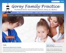 ADKC Web Design - Gorey Family Practice