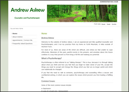 Andrew Askew, Counsellor and Psychotherapist, Wexford