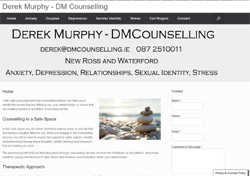 DM Counselling Wexford, Waterford, Kilkenny- Counselling for couples, anxiety, depression, stress, relationships, family therapy, gender identity