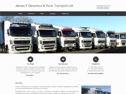 James F Devereux & Sons Transport - Haulage company in Wexford, Ireland